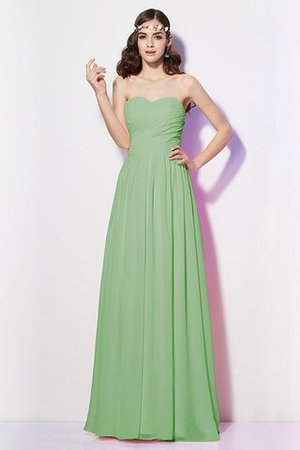 Pleated Zipper Up Empire Waist A-Line Bridesmaid Dress - 25