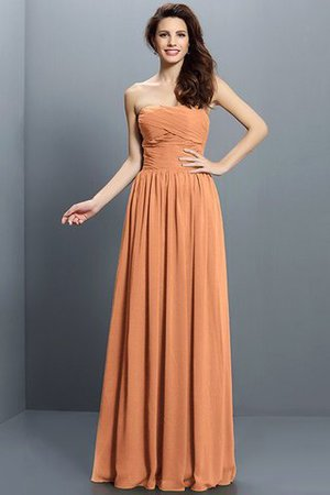 Strapless A-Line Pleated Zipper Up Bridesmaid Dress - 20
