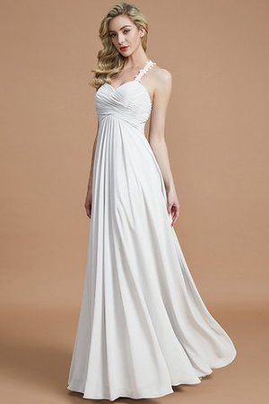 Natural Waist Floor Length Sweetheart Ruched Princess Bridesmaid Dress - 35