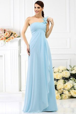 Princess Sleeveless Pleated Zipper Up Long Bridesmaid Dress - 18