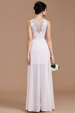Ruched Zipper Up Natural Waist Jewel Sleeveless Bridesmaid Dress - 36