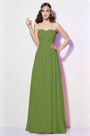 Pleated Zipper Up Empire Waist A-Line Bridesmaid Dress - 13