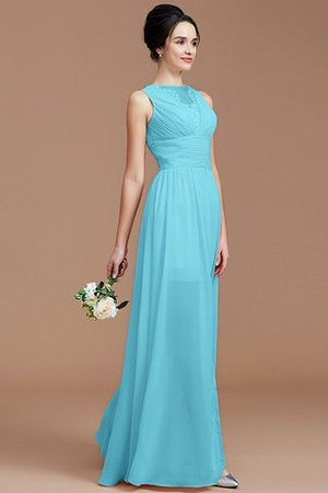 Ruched Zipper Up Natural Waist Jewel Sleeveless Bridesmaid Dress - 8