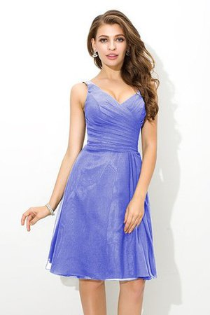 Chiffon Princess Sleeveless Natural Waist Draped Bridesmaid Dress - 16