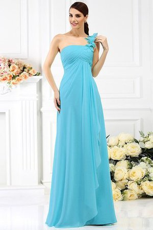 Princess Sleeveless Pleated Zipper Up Long Bridesmaid Dress - 3