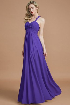 Natural Waist Floor Length Sweetheart Ruched Princess Bridesmaid Dress - 30