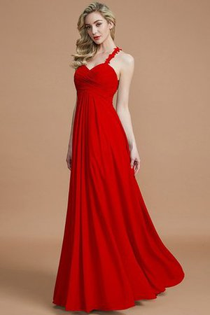 Natural Waist Floor Length Sweetheart Ruched Princess Bridesmaid Dress - 29