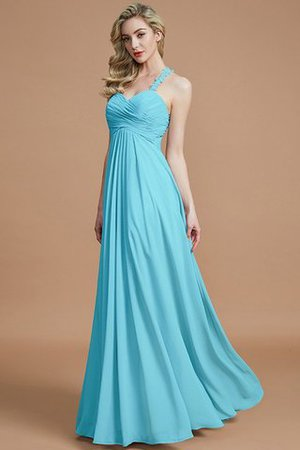 Natural Waist Floor Length Sweetheart Ruched Princess Bridesmaid Dress - 9