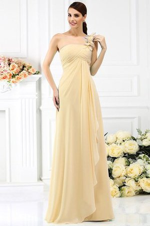 Princess Sleeveless Pleated Zipper Up Long Bridesmaid Dress - 6