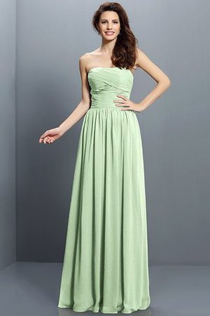 Strapless A-Line Pleated Zipper Up Bridesmaid Dress - 26