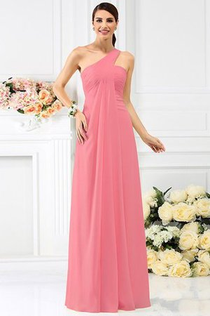 Zipper Up Long Floor Length A-Line Bridesmaid Dress - 28