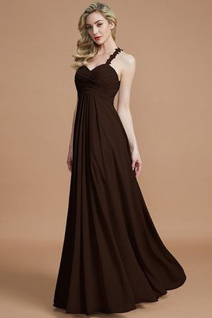 Natural Waist Floor Length Sweetheart Ruched Princess Bridesmaid Dress - 12