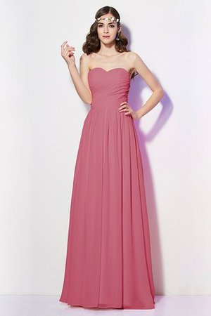Pleated Zipper Up Empire Waist A-Line Bridesmaid Dress - 27
