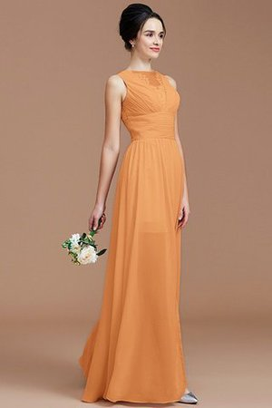 Ruched Zipper Up Natural Waist Jewel Sleeveless Bridesmaid Dress - 26