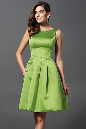 A-Line Knee Length Natural Waist Bridesmaid Dress - 14