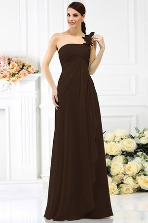 Princess Sleeveless Pleated Zipper Up Long Bridesmaid Dress - 7