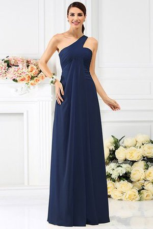 Zipper Up Long Floor Length A-Line Bridesmaid Dress - 10