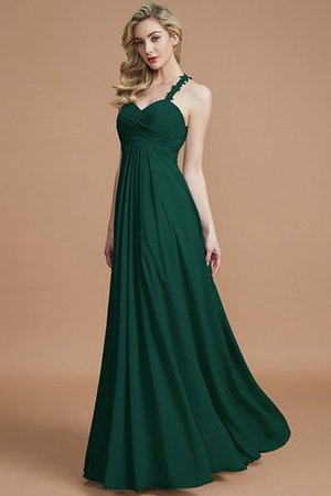 Natural Waist Floor Length Sweetheart Ruched Princess Bridesmaid Dress - 15