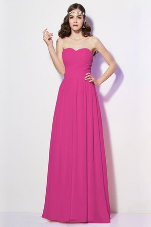 Pleated Zipper Up Empire Waist A-Line Bridesmaid Dress - 11