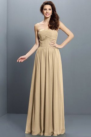 Strapless A-Line Pleated Zipper Up Bridesmaid Dress - 12