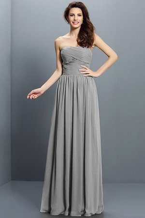 Strapless A-Line Pleated Zipper Up Bridesmaid Dress - 27