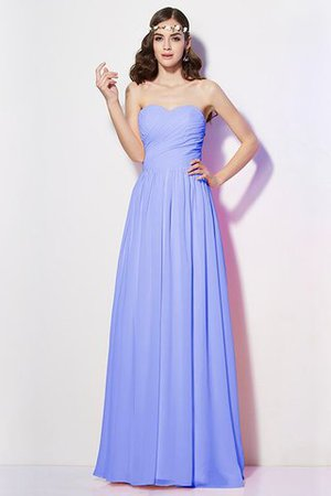 Pleated Zipper Up Empire Waist A-Line Bridesmaid Dress - 16