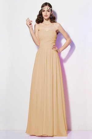 Pleated Zipper Up Empire Waist A-Line Bridesmaid Dress - 5