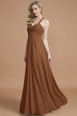 Natural Waist Floor Length Sweetheart Ruched Princess Bridesmaid Dress - 10