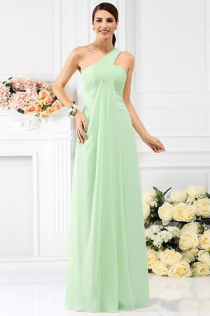 Zipper Up Long Floor Length A-Line Bridesmaid Dress - 26