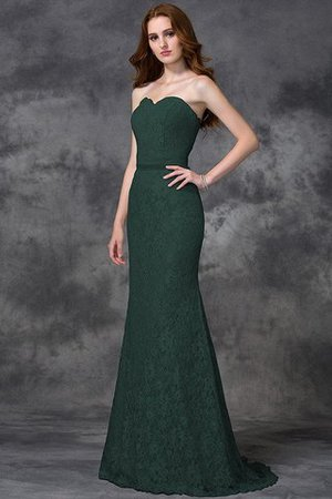 Appliques Zipper Up Sleeveless Floor Length Natural Waist Bridesmaid Dress - 9