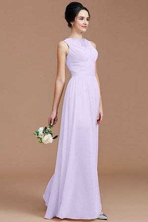 Ruched Zipper Up Natural Waist Jewel Sleeveless Bridesmaid Dress - 25