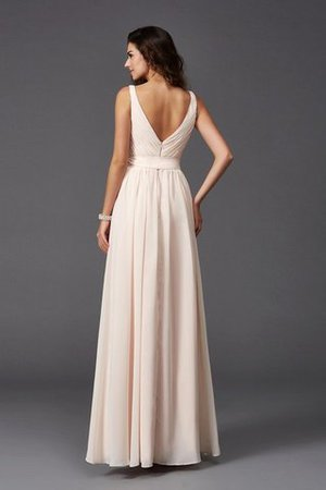 Sashes Floor Length Spaghetti Straps A-Line Bridesmaid Dress - 31