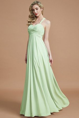 Natural Waist Floor Length Sweetheart Ruched Princess Bridesmaid Dress - 32