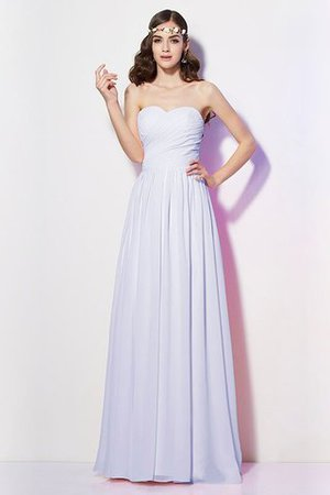Pleated Zipper Up Empire Waist A-Line Bridesmaid Dress - 29
