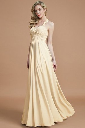 Natural Waist Floor Length Sweetheart Ruched Princess Bridesmaid Dress - 11