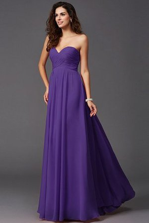 A-Line Sleeveless Chiffon Empire Waist Bridesmaid Dress - 24