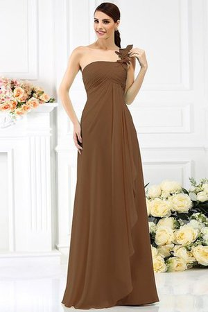 Princess Sleeveless Pleated Zipper Up Long Bridesmaid Dress - 4