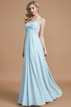 Natural Waist Floor Length Sweetheart Ruched Princess Bridesmaid Dress - 24