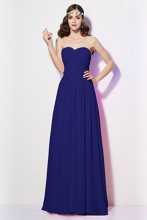 Pleated Zipper Up Empire Waist A-Line Bridesmaid Dress - 26