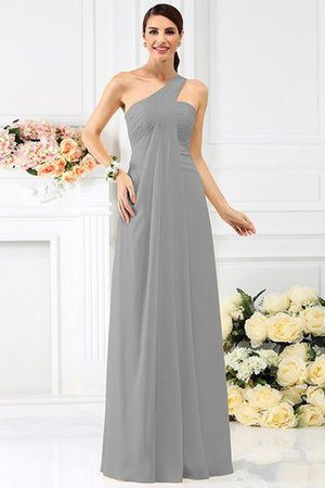 Zipper Up Long Floor Length A-Line Bridesmaid Dress - 27