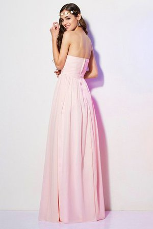 Pleated Zipper Up Empire Waist A-Line Bridesmaid Dress - 30