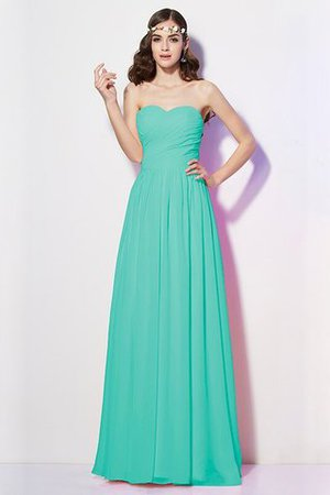 Pleated Zipper Up Empire Waist A-Line Bridesmaid Dress - 15