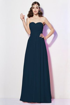 Pleated Zipper Up Empire Waist A-Line Bridesmaid Dress - 9
