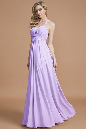 Natural Waist Floor Length Sweetheart Ruched Princess Bridesmaid Dress - 25