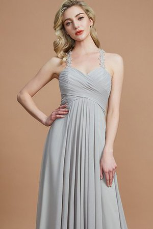 Natural Waist Floor Length Sweetheart Ruched Princess Bridesmaid Dress - 6