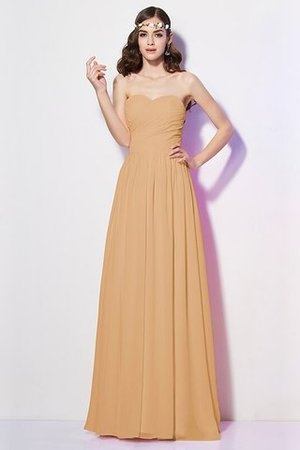 Pleated Zipper Up Empire Waist A-Line Bridesmaid Dress - 12