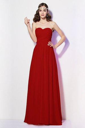 Pleated Zipper Up Empire Waist A-Line Bridesmaid Dress - 22