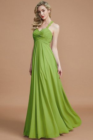 Natural Waist Floor Length Sweetheart Ruched Princess Bridesmaid Dress - 20