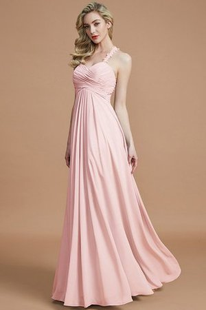 Natural Waist Floor Length Sweetheart Ruched Princess Bridesmaid Dress - 27