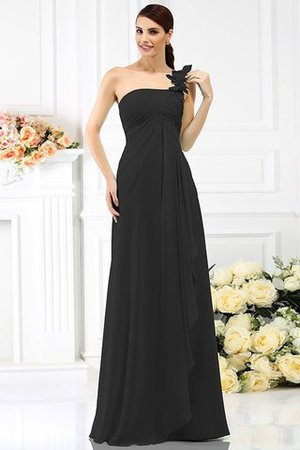 Princess Sleeveless Pleated Zipper Up Long Bridesmaid Dress - 2
